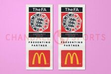 Fa charité shiled McDonald's soccer manches 2004-2006 patch / Badge