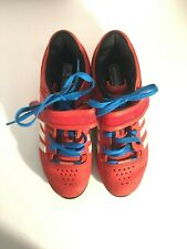 Men's Adidas Adipower Weightlifting Shoes V24382 Red/ White - Size: 5.5M