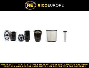 Volvo EC55C Filter Service Kit Air, Oil, Fuel Filters volvo engine