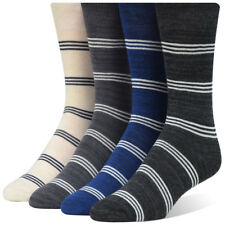 Men's Classic Striped Dress Socks (4 Pairs) Collection