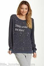 WILDFOX COUTURE Sleep Under The Stars Baggy Beach Jumper Sweatshirt Pullover M