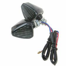 2x Motorcycle 12 LED Turn Signal Indicators Blinker Amber Light for Yamaha Honda