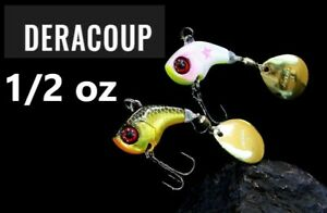Jackall DERACOUP 1/2 oz Metal Blade Bait Choose Color For Bass From Japan
