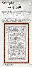 Blessed Be Cross Stitch Chart Pack - Papillon Creations - NIP
