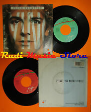 LP 45 7'' PETER FRAMPTON Lying You know so well 1985 italy VIRGIN cd mc dvd *