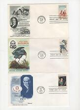 US FDC American Painters and Artists Collection 14 First Day Covers 1961-75 |
