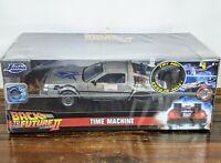 Michael J Fox Signed Auto Back To The Future II DeLorean 1:24 Car