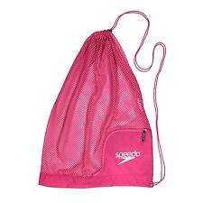 Speedo Swim Ventilator Mesh Equipment Pool Gear Swimming Bag, Fuchsia/Purple