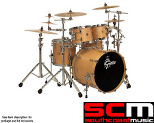Gretsch 5pce Classic Drum Kit With Gibraltar Hardware Satin Natural