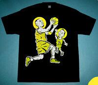 New  Lil Penny hardaway shirt wu tang optic yellow foamposite Cajmear M L XL 2XL