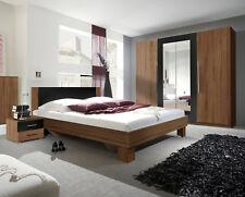 Schlafzimmer Set Komplettschlafzimmer Schlafzimmer kernnussrot / schwarz 54033