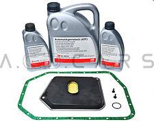 FEBI Ölwechsel Set Getriebefilter + Dichtung + 7L DEXRON III GETRIEBE BMW 5HP24