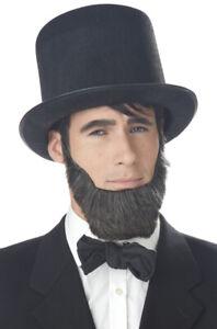 Honest Abe Abraham Lincoln President Adult Costume Beard