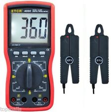 ETCR4000 Double clamp digital phase meter Clamp meter