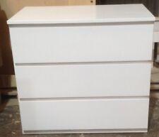 Chest of Drawers, Bono 3 Drawer - WHITE