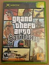 New listing Grand Theft Auto San Andreas - Microsoft Xbox - Working Game & Map!