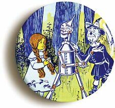 DOROTHY & TIN MAN & SCARECROW THE WONDERFUL WIZARD OF OZ BADGE BUTTON PIN