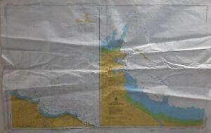 Admiralty AUS 163 Port of Burnie Australia Tasmania Nautical Geographical Chart