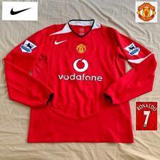 Original Manchester United Football Shirt CR7 C.RONALDO 2004  Mint Vintage NIKE