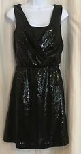 WHBM White House Black Market Womens 2 Dress Sequin A-Line Cocktail Sleeveless