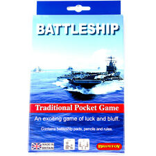 Battleship - traditional travel game