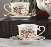Delton English Rose 1 Tea Cup & Saucer  pair  24780926