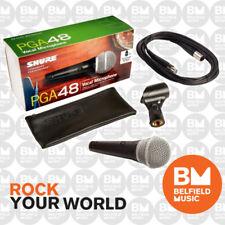 Shure PGA48 Wired Microphone Handheld Mic Vocal w/ XLR-XLR PGA-48 Replaces PG48
