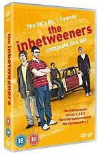 THE INBETWEENERS COMPLETE COLLECTION SERIES 1-3 + MOVIES 5 DISC DVD BOX SET NEW