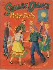 Vintge 1951 Square Dance Paper Doll Lazer Rpro Org Sz