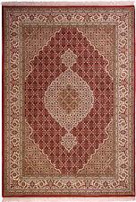 Orientteppich Perserteppich 242 x 170cm Rot Handgeknüpft Korkwolle mit Seide