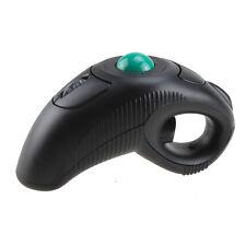 USB Wireless PC Laptop Finger HandHeld Trackball Mouse Mice w/ Laser Pointer New