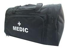 1 x MEDIC Black Holdall/Work Bag Silver Text Paramedic Ambulance Medic St John