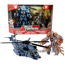 Year 2007 Transformers Movie 2 Pack Figure DECEPTICON DESERT ATTACK + SCORPONOK
