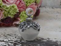 Parfum Flakon mit Simili * Chic Antique * Shabby * Landhaus * Vintage