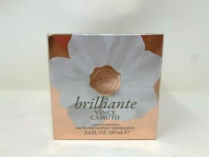 Brilliante Vince Camuto Limited Edition Eau de Parfum EDP Spray 3.4 oz New Box