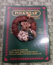 Boyds Bears And Friends Folkwear Pin, Hirum Moose Planter Friends of the Forest.