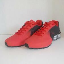 buy online c7170 b5eca ... purchase nike shox deliver running shoes red black silver 317547 men  size 12 91e7c 3d086
