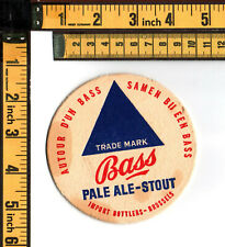 BEER COASTER BASS BREWERY SOUTHAM GREAT BRITAIN BIERDECKEL - 1950/60s