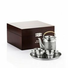 Royal Selangor Four Seasons Collection Pewter Tea Set in Wooden Gift Box Gift