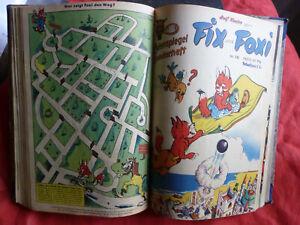 FIX UND FOXI Originalhefte 1 - 27 fast komplett ab 1953 Eulenspiegel Rolf Kauka