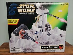NEW Star Wars Hoth Battle with Turret & Laser Kenner 1996