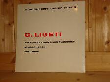 Ligeti Aventures MADERNA Atmospheres BOUR WERGO STUDIO REIHE NEUER MUSIK LP NM