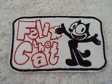 "FELIX the CAT 6"" Embroidery Iron-on Custom Patch (E10)"