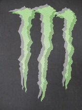MONSTER ENERGY DRINKS - JUMBO LOGO - LARGE BLACK T-SHIRT - V413