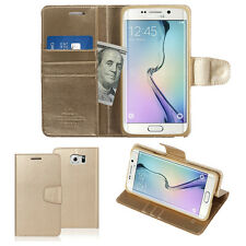 Diary Leather Wallet Case Slim Flip Cover w/Silicone Case For Samsung Galaxy Lot