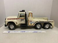 Vintage Nylint Pressed Steel Truck, Race Team Short Track Stocker  1980