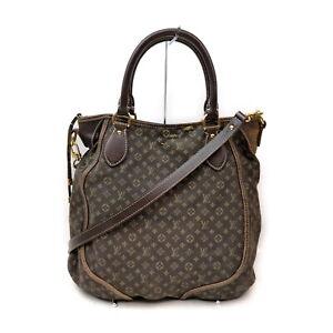 Louis Vuitton LV Tote Bag Besace Angele M95617 Browns Monogram Mini lin 1728599