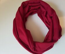 Deep Red Dreadlock Headband/dread sock/wrap  Lightweight, soft, comfortable