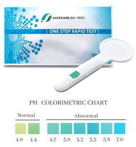 3 Vaginal Infections Bacterial Vaginosis BV Thrush pH Test applicators