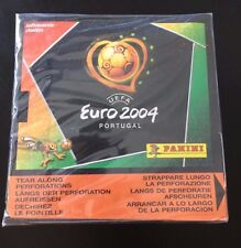 Panini Euro 2004 stickers sealed box 50 packets 250 stickers